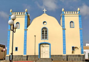 Church in Sal Rei, Island of Boa Vista