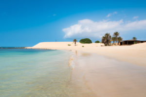 Boa Vista Island Cape Verde Chaves Beach