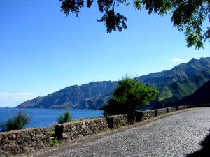 Road from Ribeira Grande to Paúl