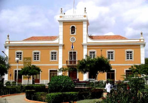 City hall in Praia, Santiago Island